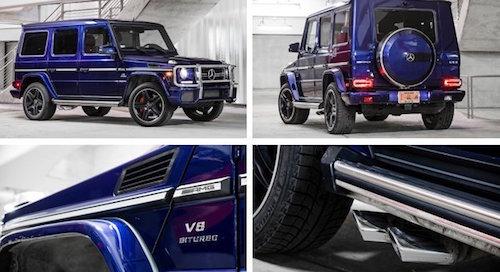 Mercedes-Benz представил новую генерацию внедорожника G63