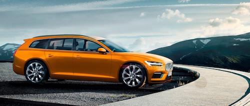 Volvo объявила дату презентации нового универсала V90