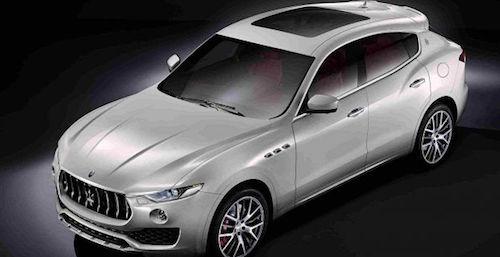 Maserati рассекретила свой первый кроссовер Levante