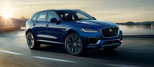 Jaguar объявил рублевую цену на кроссовер F-Pace