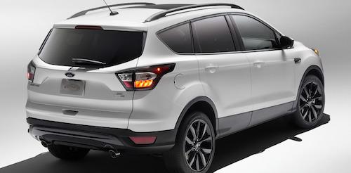 Ford Escape 2017 модельного ряда получит новый спорт-пакет