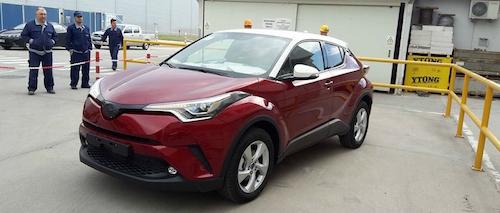 В Сети опубликованы фото серийного кроссовера Toyota C-HR