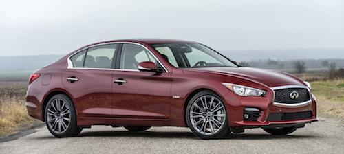 Infiniti объявила американские цены обновленного седана Q50 2016