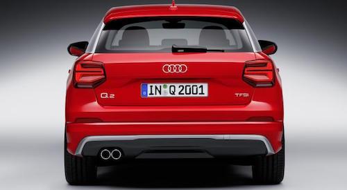 2017 Audi Q2 rear 2