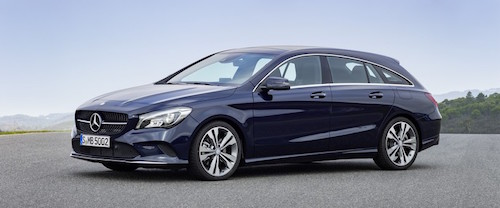 Mercedes-Benz CLA Shooting Brake (X117), 2016