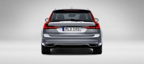 Volvo представила на автосалоне в Женеве универсал V90