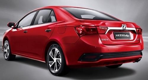 Zotya выпустила седан Z300 нового поколения