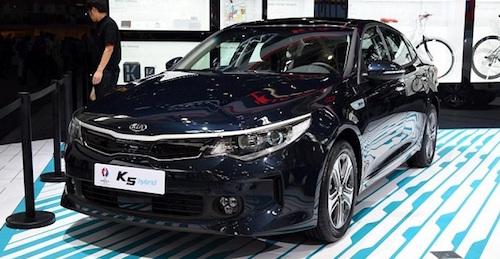 В Китайская республика  стартовали продажи первого гибридного седана от Кия
