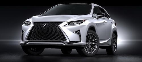 Lexus RX назван лидером премиального рынка РФ