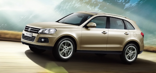 В первой половине 2016 года в РФ продано 74 машины Zotye