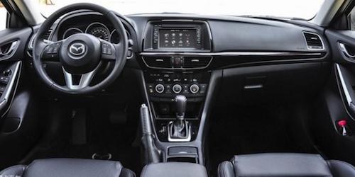 Рестайлинговый Mazda 6/Atenza попал в объективы камер китайских фотошпионов