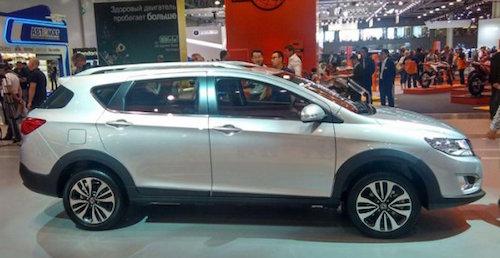 Dongdeng представил новые седаны в Москве