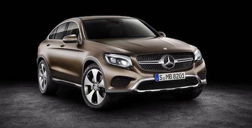 Benz GLC Coupe появится в РФ в2015-м году 0