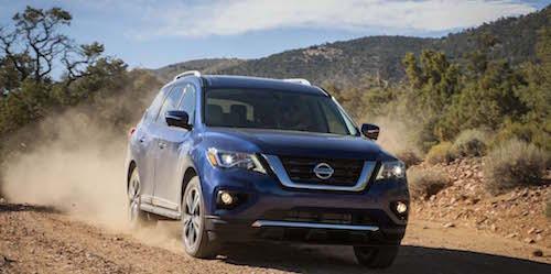 Объявлены цены на внедорожник Nissan Pathfinder 2017 года