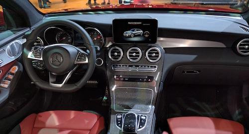 Mercedez-Benz продемонстрировал в столице России новый кросс-купе GLC Coupe