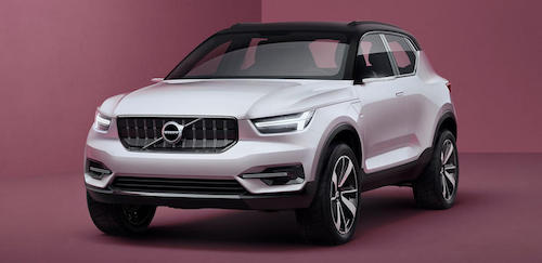 Новый Volvo XC40 получит оригинальный силовой агрегат