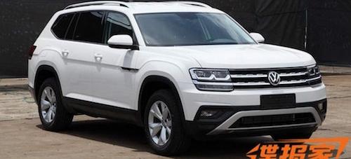 Опубликованы фотографии нового кроссовера Volkswagen