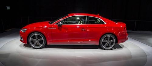 На автосалоне в Париже представили новую Audi S5 Coupe