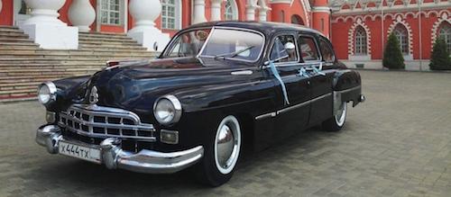 Шестиместный ГАЗ-12 1953 года выставлен на eBay за 60 тыс. долларов
