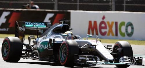 Льюис Хэмильтон выиграл Гран При Мексики, Росберг второй, Риккиардо третий