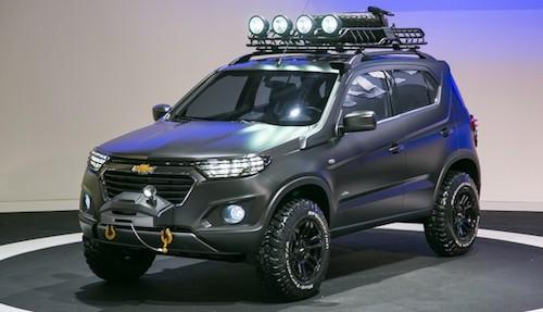 (Chevrolet Niva 2 Concept Фото: ©
