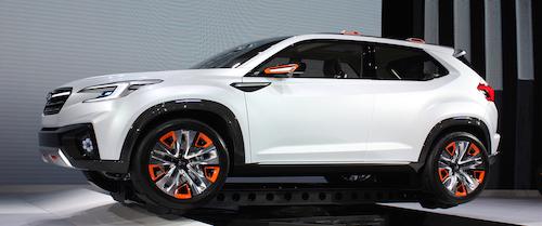 (Фото: Subaru Viziv Concept)