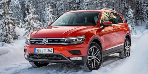 (Фото: Volkswagen Tiguan 2017)
