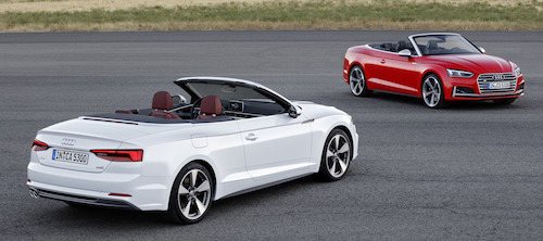 Audi представила новое поколение кабриолетов A5 и S5