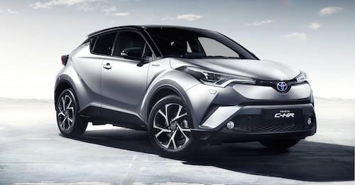 (Toyota CH-R. Фото: © Toyota)