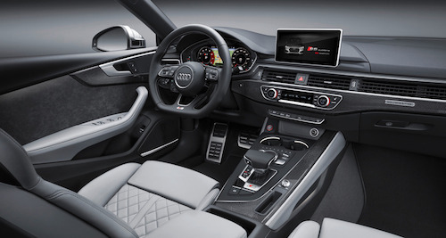 (Фото: Audi A5 Sportback салон)