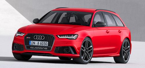 (Audi RS6 Avant Фото: © Audi)