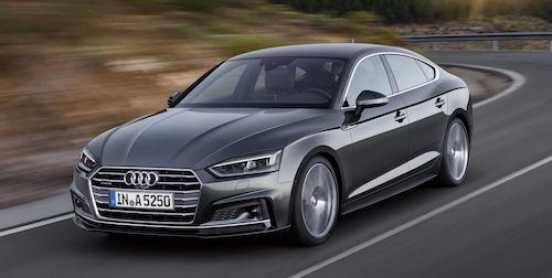 (Audi A5 Sportback. Фото: © Audi)