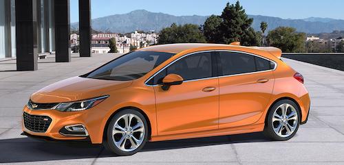 Chevrolet назвал стоимость обновленного Cruze
