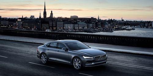 (Volvo S90. Фото: © Volvo)