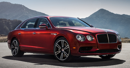 (Фото: Bentley Flying Spur V8 S)