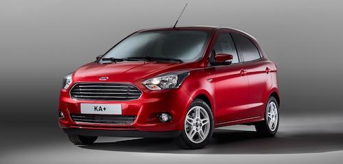 (Ford Ka+. Фото: © Ford)