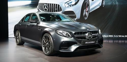 (Mercedes AMG E63 1 Edition. Фото: © Mercedes-Benz)