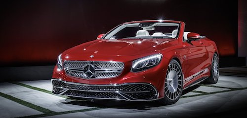 (Фото: Mercedes-Maybach S650 Cabriolet)