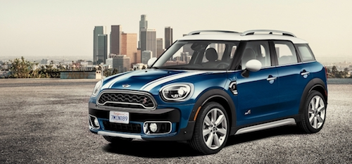 (2017 MINI Countryman. Фото: © MINI)