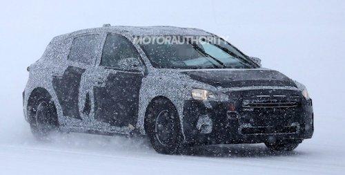 Форд Focus обновленного поколения засняли впроцессе зимнего теста