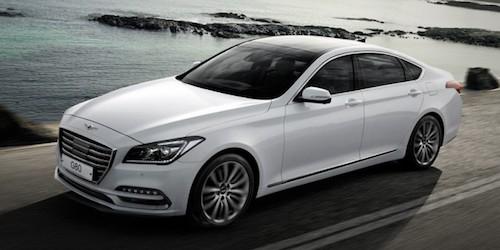Седан Genesis G80 будет доступен в Российской Федерации с2,0-литровым двигателем