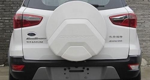 Рестайлинговый Форд EcoSport 2018 рассекретили вКитайской республике