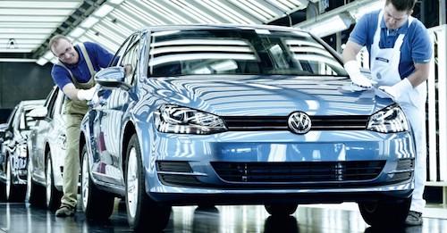 Концерн Фольксваген реализовал намировом автомобильном рынке 813 тыс. машин