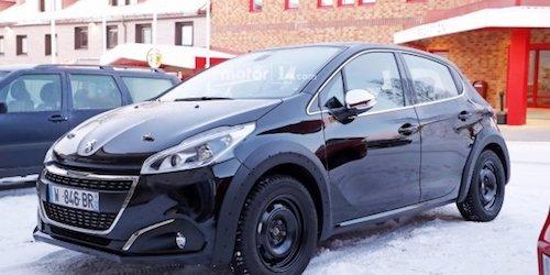 Улучшенный Peugeot (Пежо) 208 впервые был замечен впроцессе тестов
