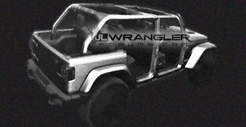 Вweb-сети появились новые изображения джипа Jeep WranglerJL