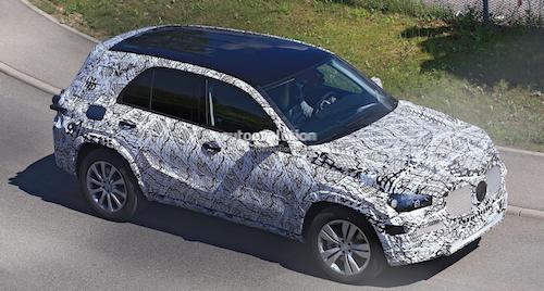 Mercedes GLB 2019 получит обновления
