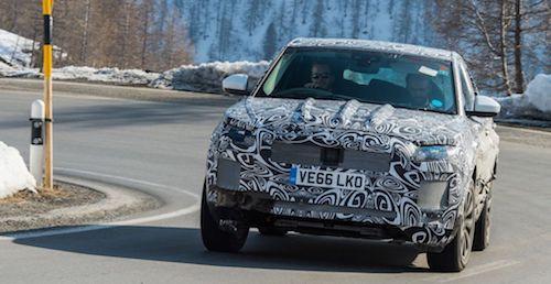 Ягуар E-Pace придаст ускорения английскому бренду всегмете SUV