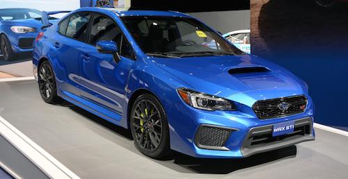 Обновленный Subaru WRX получил стоимость от 27 тысяч 800 долларов