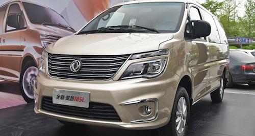 Реинкарнация Mitsubishi Delica - стартовали продажи Dongfeng Lingzhi M5L