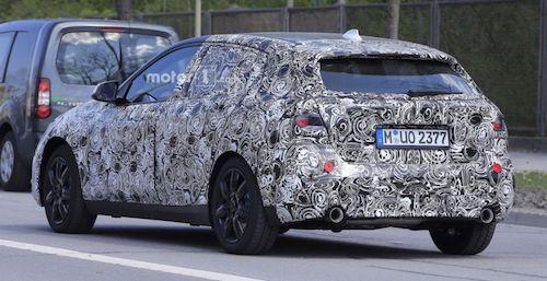 Обновленный BMW 1-Series впервые попал на шпионские фото